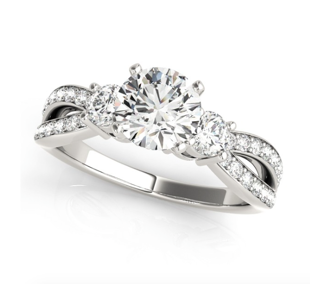 brilliant classic style engagement pic earth timeless rings